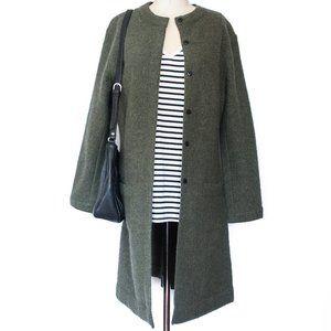 Alexandra Bartlett | 100% Wool Sweater Jacket | S
